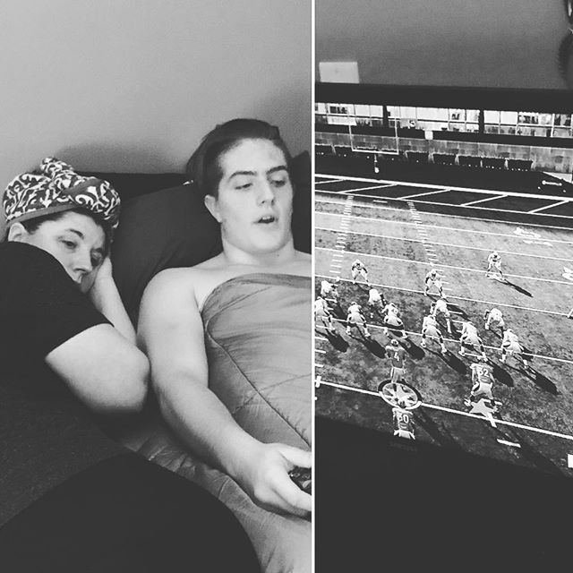 Talking football via Madden ️
