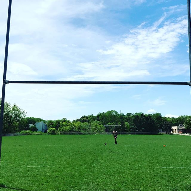 Right back out there 🏉☘️